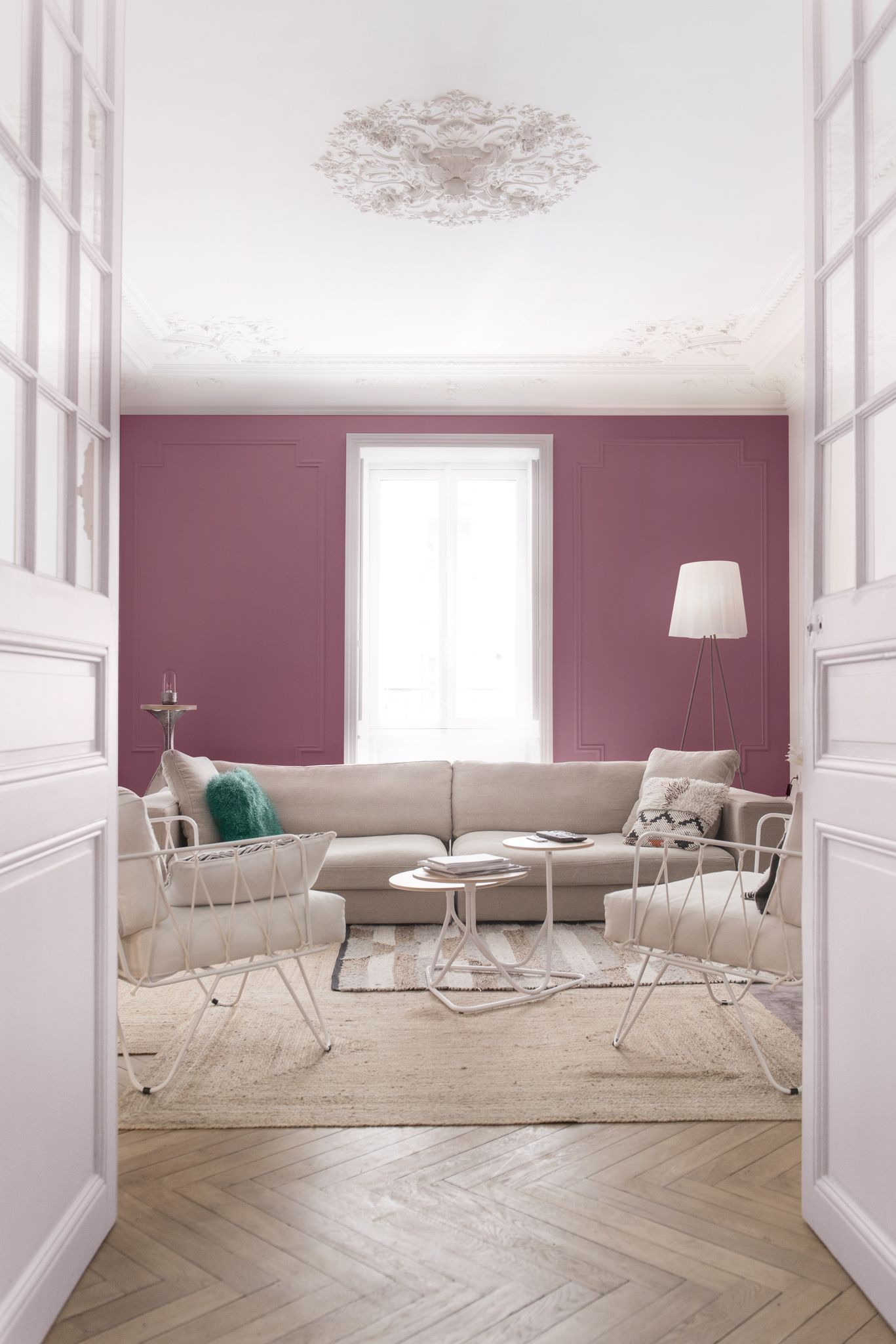Peinture maison 20 couleurs tendance pour peindre son salon for Choisir peinture salon